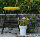 Yellow Stool