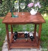 Oak Wine Table