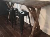 Reclaimed Wood BarTable